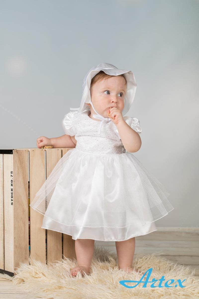 Sukienka do chrztu, biała